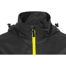 High Colorado Cannes Regenjacke Unisex schwarz